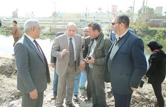 محافظ كفر الشيخ يتفقد إنشاء كوبري القنطرة البيضاء بتكلفة 7.5 مليون جنيه | صور
