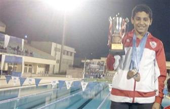 محمد عبدالشافي يحصد خمس ميداليات في بطولة الجيزة للسباحة