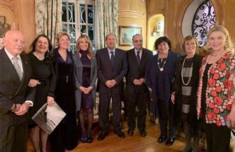 وزيرة الثقافة تلتقي نظيرها الإيطالي في روما لبحث سبل التعاون المشترك