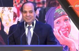 الرئيس السيسي: رفع الحد الأدني للأجور من 1200 إلى 2000 جنيه