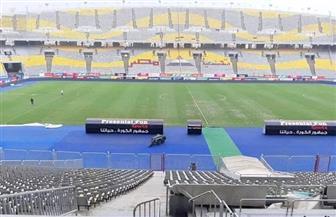 مدير ملعب برج العرب: حكم المباراة ستكون له الكلمة الأخيرة بعد معاينة ملعب المباراة