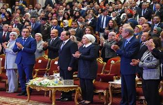انتصار السيسي: سعدت بحضوري احتفالية المرأة.. ورأيت فيها نماذج من عظيمات مصر الرائعات