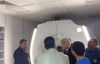 محافظ جنوب سيناء يفتتح وحدة الرنين المغناطيسي بمستشفى الطور العام   صور