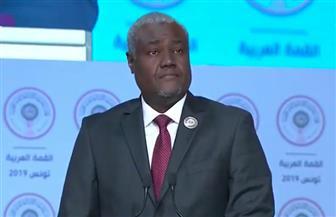 رئيس مفوضية الاتحاد الإفريقي: نرفض اقتطاع الجولان من الأراضى السورية