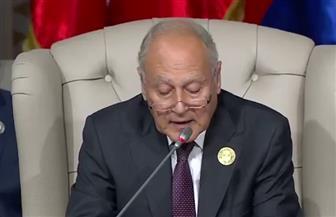 نص كلمة أحمد أبو الغيط أمام القمة العربية الثلاثين في تونس
