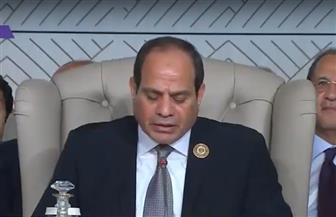 الرئيس السيسي: الإرهاب يهدد صلب الدولة الوطنية في منطقتنا.. والصراع العربي – الإسرائيلي على رأس أولوياتنا