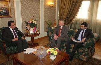 وزيرالتعليم العالي يبحث مع سفير أرمينيا بالقاهرة آليات دعم التعاون العلمي بين البلدين |صور