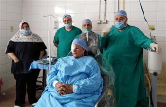 زرع قرنية لأول مرة بمستشفى بركة السبع العام في المنوفية |صور