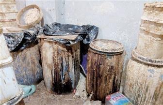 ضبط 89 برميل جبن فاسدة بمصنع بدون ترخيص في سوهاج |صور