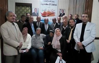 """""""الحركة الوطنية"""" بالإسكندرية تبحث آليات التمكين الاقتصادي للشباب وتنمية المشروعات الصغيرة"""