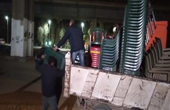 حي الهرم يشن حملات لإزالة الإشغالات بمنطقة اللبيني هرم والمريوطية فيصل | صور