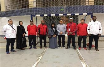 مصر والإمارات في افتتاح منافسات كرة اليد بالبطولة العربية للرياضة المدرسية  صور