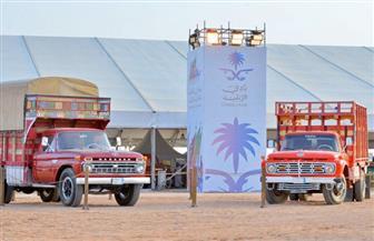معرض السيارات الأثرية يجذب زوار الفعاليات المصاحبة لمهرجان الملك عبدالعزيز للإبل |صور