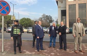 محافظ القاهرة يتفقد رفع تراكمات مياه الأمطار| صور