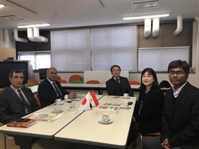 رئيس جامعة كفر الشيخ يبحث التعاون العلمي مع اليابان | صور
