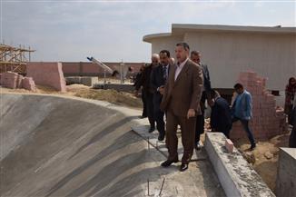 محافظ بني سويف يتفقد توسعات محطة صرف أبوصير   صور