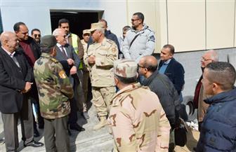 رئيس الهيئة الهندسية يتفقد أعمال التطوير بمستشفى بورسعيد العام | صور