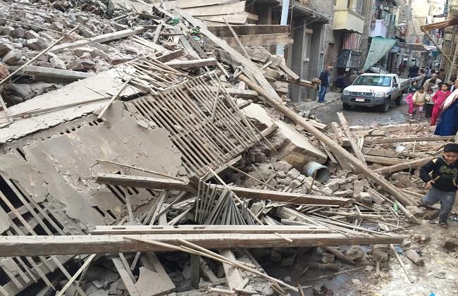 وفاة ثاني ضحايا المنزل المنهار جزئيًا إثر انفجار غاز في طنطا