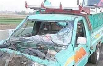 إصابة 9 مواطنين فى انقلاب سيارة بالبحيرة