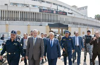 محافظ الدقهلية يقدم الشكر لرجال الأمن في اليوم العالمي للحماية المدنية | صور