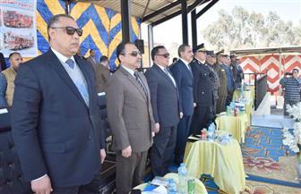 محافظ أسيوط يشهد احتفال مديرية الأمن باليوم العالمي للحماية المدنية   صور