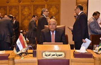 سامح شكري: آن الأوان للحل السياسي في سوريا وإعادة بناء مؤسسات الدولة