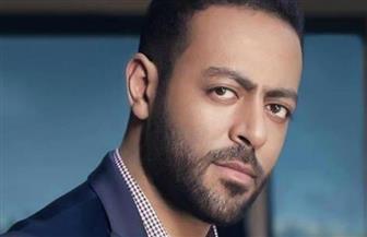 حجز معارضة المطرب تامر عاشور على حبسه للحكم