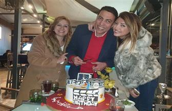 ميار الغيطي تحتفل بعيد ميلاد والدها