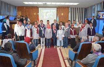 رئيس جامعة سوهاج يشهد ختام المهرجان الكشفي والإرشادي الرابع للجوالة | صور