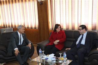 محافظ المنوفية يستقبل نائب وزير الزراعة  صور