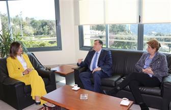 وزيرة الهجرة تلتقي حرم رئيس البرلمان اللبناني وتستعرضان الحفاظ على الهوية العربية ودور المجمتع المدني