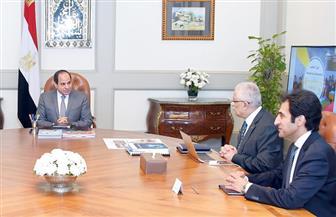 الرئيس يجتمع مع مدبولي وطارق شوقي لمتابعة الموقف التنفيذي لمشروع تطوير التعليم في مصر