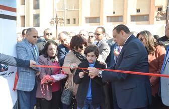 وزيرة الثقافة تفتتح معرض دمنهور الرابع للكتاب بمشاركة الأزهر والكنيسة لأول مرة | صور
