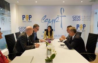 وزيرة السياحة تلتقي رئيس اتحاد الشركات الألمانية في اليوم الثاني لبورصة برلين | صور
