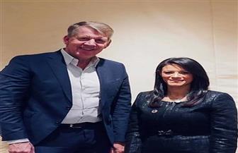 وزيرة السياحة تناقش مع رئيس مجموعة شركات TUI زيادة أعداد السائحين الصينيين|صور