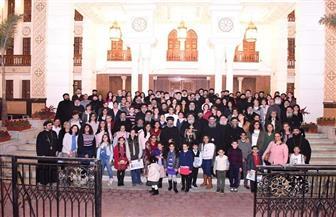 البابا تواضروس يلتقي بكهنة وسط القاهرة   صور