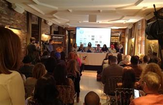رجاء الجداوي: فخورة بتكريمي في مدريد .. والمرأة العربية تبوأت أعلى المناصب  صور