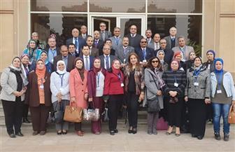 """""""قيم النزاهة والشفافية"""".. دورة تدريبية لعمداء ووكلاء جامعة حلوان"""