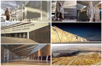 """بين بهو رمسيس وقاعة """"توت عنخ آمون"""".. كيف سيكون شكل المتحف المصري الكبير؟  صور"""