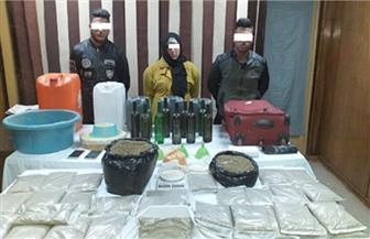"""الأمن العام يضبط مصنعا لتجهيز مخدر """"الاستروكس"""" بالجيزة"""