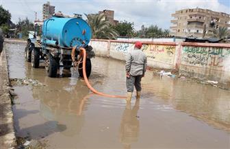 كفرالشيخ تغرق في الأمطار لليوم الرابع.. والمحافظ يوجه بسحب تجمعات المياه من الشوارع | صور