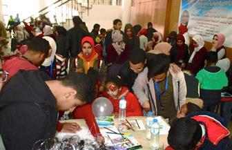 جامعة مطروح تنظم احتفالية ترفيهية لـ34 طفلا يتيما | صور