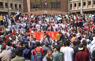 رسالة سلام لدول العالم تطلقها جامعة أسيوط في مسيرة حاشدة ضمن فعاليات أسبوع الشعوب | صور