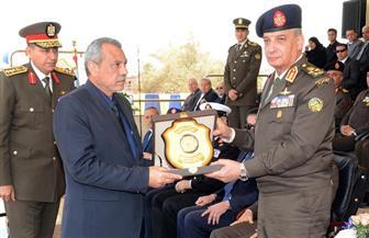 وزير الدفاع خلال حفل تخريج الدفعة 155 ضباط احتياط: رجال القوات المسلحة قادرون على الدفاع عن أمن مصر