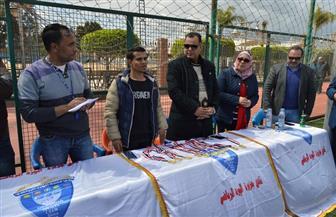 جامعة المنصورة تنظم يوما رياضيا للمتعافين من الإدمان