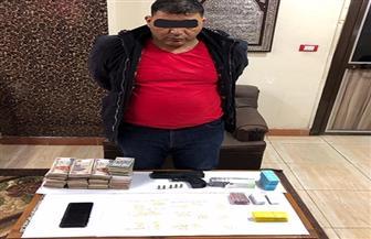 ضبط 3 أشخاص بحوزتهم أسلحة نارية ومخدرات بكفر الشيخ   صور