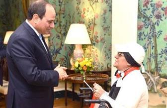 بسام راضي: الرئيس السيسي حرص على لقاء المصرية سهام نصار المقيمة بمدينة نيويورك