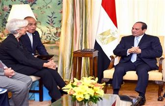 الرئيس السيسي: الشعب المصري كان له الدور الرئيسي في نجاح جهود الدولة في تنفيذ عملية الإصلاح|صور