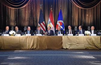 الرئيس السيسي يشارك في مأدبة عشاء على شرفه بغرفة التجارة الأمريكية|صور