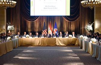 أعضاء غرفة التجارة الأمريكية يشيدون بالتقدم المحرز على صعيد جهود الإصلاح الاقتصادي في مصر